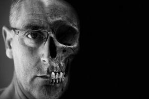 Half-hoofd-half-schedel